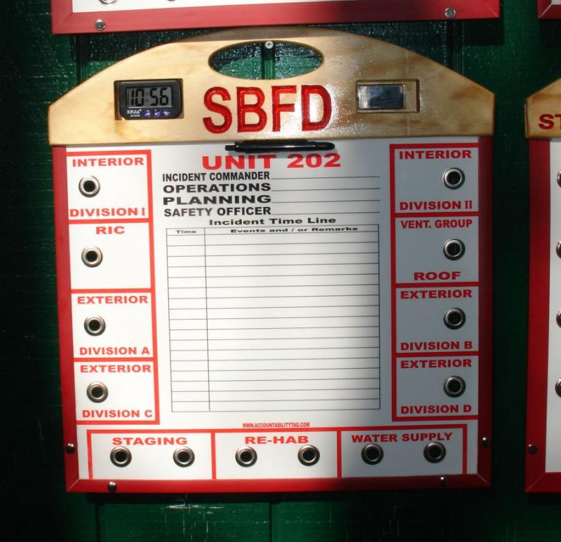 This is a Command Board going to a FD near New Orleans.